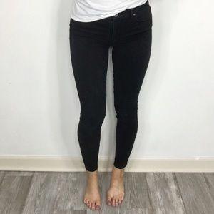 LOFT Legging pants black super soft size 26/2